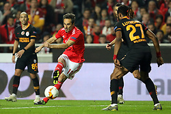 February 21, 2019 - Lisbon, Portugal - Jonas (Jonas Gonçalves Oliveira) of SL Benfica in action during the Europa League 2018/2019 footballl match between SL Benfica vs Galatasaray AS. (Credit Image: © David Martins/SOPA Images via ZUMA Wire)