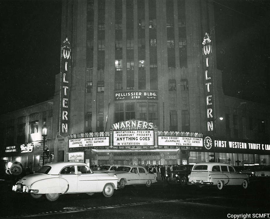 1956 Wiltern Theater at Wilshire Blvd. & Western Ave.