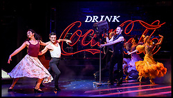 April 17, 2018 - London, London, United Kingdom - Strictly Ballroom the Musical - call. Piccadilly Theatre...Johny Labey, Zizi Strallen and Will Young join the cast of Baz Luhrmann's Strictly Ballroom the Musical at a press preview performance at the Piccadilly Theatre in London. (Credit Image: © Pete Maclaine/i-Images via ZUMA Press)