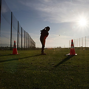 Kids practice at the First Tee of Monterey County, which opens the door to golf, as well as academic tutoring,  to many underprivileged kids of Salinas, CA. The First Tee is located only miles from the affluent golf haven, Pebble Beach.