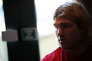 Richard Hibbard of Wales. Wales rugby training and press conference at the Vale resort, Hensol near Cardiff, South Wales on Tuesday 19th Feb 2013. The team are training ahead of their forthcoming RBS Six nations match in Italy. pic by Andrew Orchard, Andrew Orchard sports photography,
