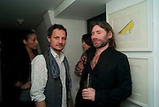 JONATHAN YEO; MAT COLLISHAW, Polly Morgan 30th birthday. The Ivy Club. London. 20 January 2010