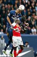 FOOTBALL - FRENCH CHAMPIONSHIP 2012/2013 - L1 - PARIS SAINT GERMAIN VS REIMS - 20/10/2012 - ALEX (PARIS SAINT-GERMAIN)