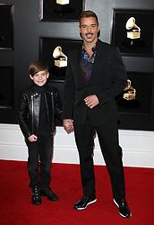 61st Annual Grammy Awards - Arrivals. 10 Feb 2019 Pictured: Ricky Martin. Photo credit: Jaxon / MEGA TheMegaAgency.com +1 888 505 6342