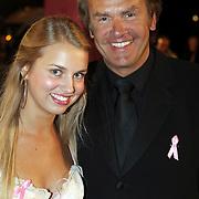 NLD/Amsterdam/20080929 - Pink Ribbon gala 2008, Bert Kuizinga en dochter