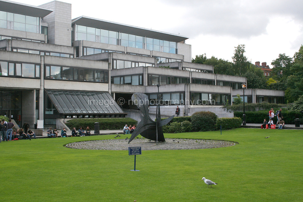 The Arts Building at Trinity College Dublin Ireland