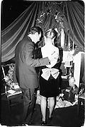 Kary  McClelland and Larry Hansen, Actors Equity 75th Anniversary gala. Hudson Passenger ship terminal 20th November 1988© Copyright Photograph by Dafydd Jones 66 Stockwell Park Rd. London SW9 0DA Tel 020 7733 0108 www.dafjones.com