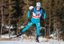 27.01.2018, Nordic Arena, Seefeld, AUT, FIS Weltcup Langlauf, Seefeld, Langlauf, Herren, im Bild Clement Arnault (FRA) // Clement Arnault of France // during Mens Cross Country Race of the FIS World Cup at the Nordic Arena in Seefeld, Austria on 2018/01/27. EXPA Pictures © 2018, PhotoCredit: EXPA/ JFK