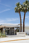 Palm Springs Art Museum Architecture and Design Center on Palm Canyon Drive