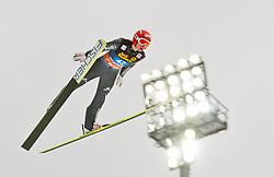 30.12.2011, Schattenbergschanze / Erdinger Arena, GER, Vierschanzentournee, FIS Weldcup, Probedurchgang, Ski Springen, im Bild Richard Freitag (GER) // Richard Freitag of Germany during the trial round at 60th Four-Hills-Tournament, FIS World Cup in Oberstdorf, Germany on 2011/12/30. EXPA Pictures © 2011, PhotoCredit: EXPA/ P.Rinderer