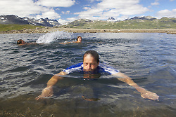 Mountain swimming