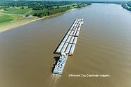 63807-01209 Barge on the Mississippi river near Thebes, IL