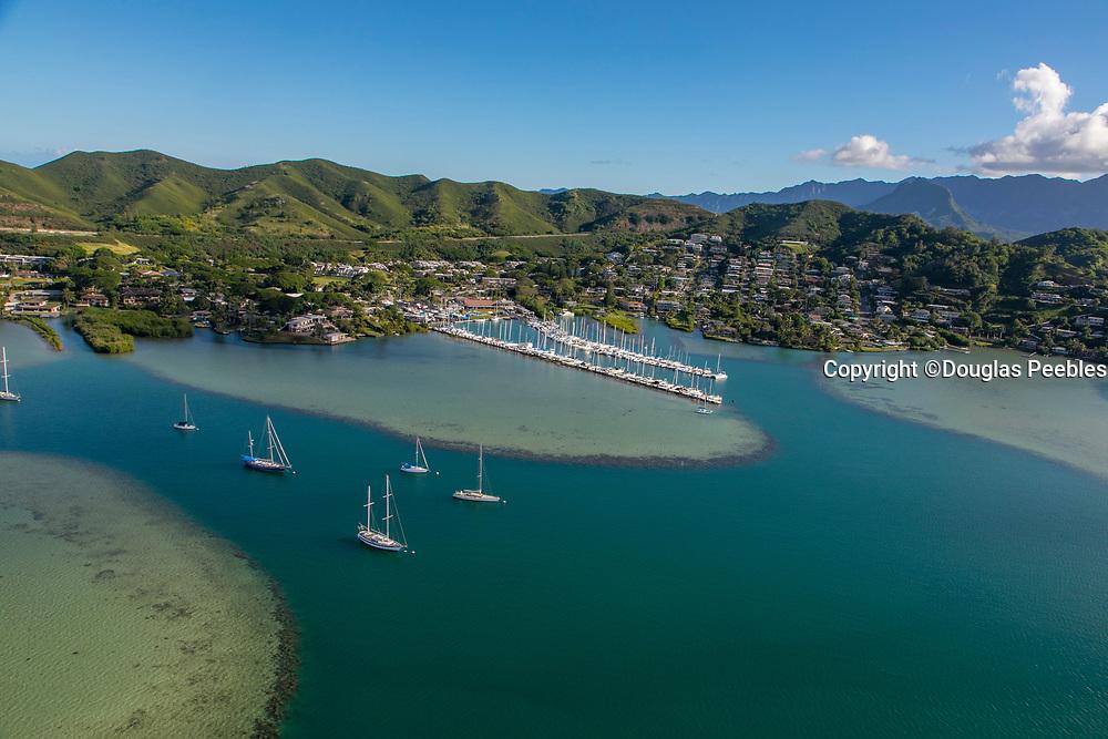Kaneohe Yacht Club, Kaneohe Bay, Kaneohe, Windward, Oahu, Hawaii