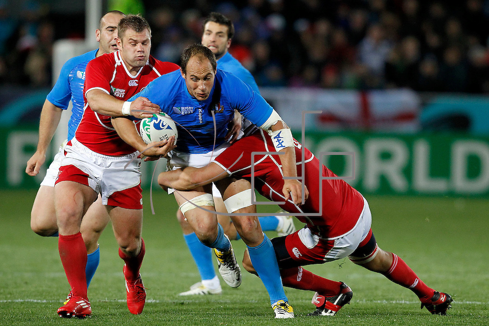 Nelson 20/09/2011 Trafalgar Park <br /> Rugby World Cup : Italy vs Russia<br /> Sergio Parisse