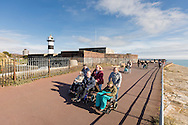 EMBARGOED 00:01 Wednesday 22nd February; 2017.<br /> <br /> Residents and staff from Chestnut View care home visiting the seafront in Southsea, Hampshire. They are amongst the first of 100,000s of old and vulnerable people to enjoy new Out and About excursions after Oomph! announces nationwide expansion plans today (Wednesday 22nd February).<br /> Out and About tackles a lack of outings for people in care settings due to social care funding cuts. Innovative model offers economies of scale on excursion planning, transport and conductors across care settings in an area.<br /> 80 Out and About minibuses will hit the road in first year thanks to £1.5million investment from Mike Parsons, Care and Wellbeing Fund and Nesta Impact Investments.<br /> Photograph by Christopher Ison ©<br /> 07544044177<br /> chris@christopherison.com<br /> www.christopherison.com