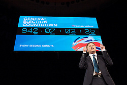 Conservative Party Conference, ICC, Birmingham, Great Britain <br /> Day 1<br /> 7th October 2012 <br /> <br /> Rt Hon Grant Shapps MP<br /> Chairman of the Conservatives <br /> <br /> with General Election Countdown <br /> <br /> Photograph by Elliott Franks<br /> <br /> Tel 07802 537 220 <br /> elliott@elliottfranks.com<br /> <br /> ©2012 Elliott Franks<br /> Agency space rates apply