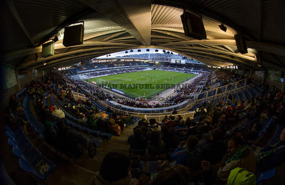 partido del Racing de Santander contra Atletico de Madrid en Santander  Spain, 11 Febrero 2012. Photo By  Juan Manuel Serrano Arce