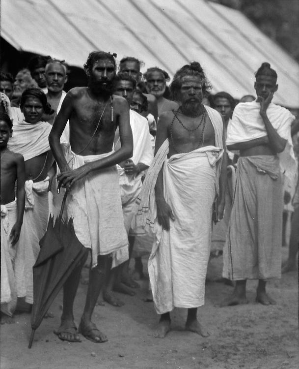 Brahmins,  56 Day Ceremony, Trivandrum, India, 1929