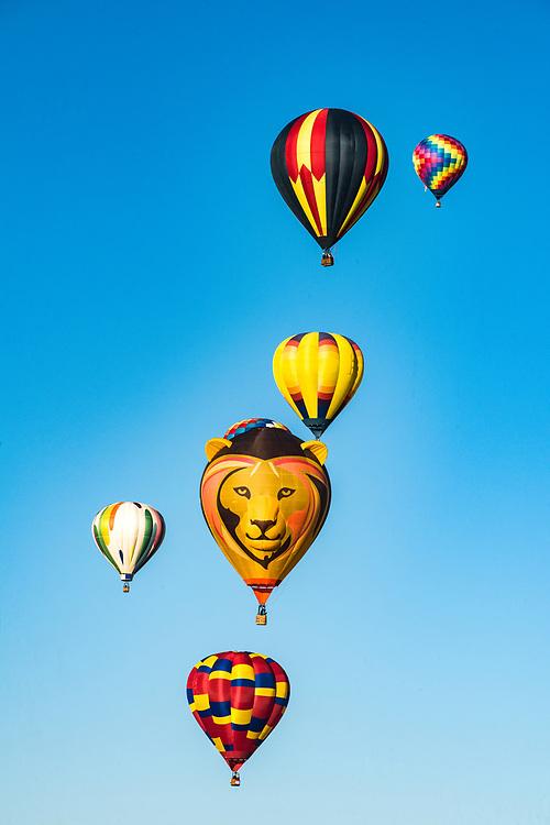 Albuquerque International Balloon Fiesta in the Rio Grande Valley, Albuquerque, New Mexico