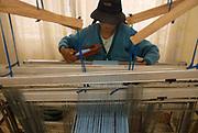Woman weaving in Patacamya.
