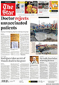September 08, 2021 - AFRICA: Front-page: Today's Newspapers In Africa
