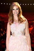 Bekendmaking Miss Nederland 2018 in het Circustheater, Scheveningen .<br /> <br /> Op de foto:   Miss Nederland 2017 Nicky Opheij