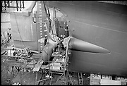 "Ackroyd_15737-05.  ""Wisco. New Orleans on drydock. January 15, 1969"" (Swan Island)"