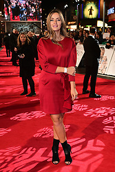 Fran Newman-Young attending the European premiere of Collateral Beauty, held at the Vue Leicester Square, London.