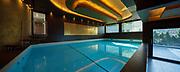 Swimming pool in a modern villa