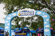 Entrance to Ben and Jerry's Ice Cream Factory.