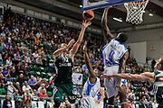 DESCRIZIONE : Eurolega Euroleague 2014/15 Gir.A Dinamo Banco di Sardegna Sassari - Zalgiris Kaunas<br /> GIOCATORE : Edgaras Ulanovas Shane Lawal<br /> CATEGORIA : Tiro Penetrazione Stoppata<br /> SQUADRA : Dinamo Banco di Sardegna Sassari<br /> EVENTO : Eurolega Euroleague 2014/2015<br /> GARA : Dinamo Banco di Sardegna Sassari - Zalgiris Kaunas<br /> DATA : 14/11/2014<br /> SPORT : Pallacanestro <br /> AUTORE : Agenzia Ciamillo-Castoria / Luigi Canu<br /> Galleria : Eurolega Euroleague 2014/2015<br /> Fotonotizia : Eurolega Euroleague 2014/15 Gir.A Dinamo Banco di Sardegna Sassari - Zalgiris Kaunas<br /> Predefinita :