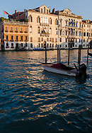 Sunset on the Grand Canal of Venice, Italy