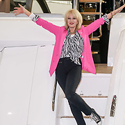 Joanna Lumley attends the London Boat Show Preview 2017 at Excel London,UK. Photo by See Li/Picture Capital