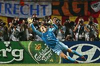 Faro 27/6/2004 Euro2004 <br />Svezia - Olanda 4-5 after penalties (0-0) <br />Andy Van Der Saar of Netherlands <br />Photo Andrea Staccioli Graffiti