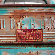 Bisbee, Arizona is known for being an eclectic town filled with eccentric artists, musicians and folks looking to get away from it all. The former copper and silver mining town now focuses its energy on tourism. An old Studebaker is parked on a side street in Bisbee, AZ.