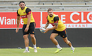 Picture by Laurent Selles/Catalans Dragons/via SWpix.com - 10/07/2020 Rugby League Betfred Super League 2020<br /> Back in training. Catalans Dragons players back in training today at Stade Gilbert Brutus, Perpignan - France after the long lay off due to Coronavirus Covid 19 Pandemic<br /> Michael Mcllorum