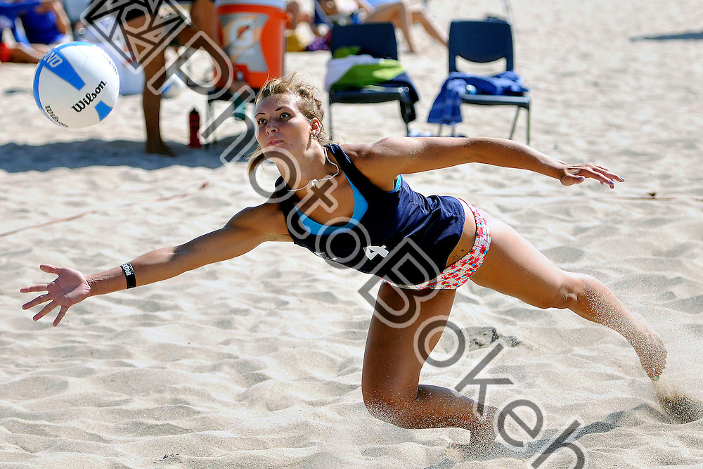 2013 March 30 - FIU Ksenia Sukhareva (4). Florida International University hosted the FIU Surf and Turf Tournament on South Beach Park, Fort Lauderdale, Florida. (Photo by: www.photobokeh.com / Alex J. Hernandez) This image is copyright PhotoBokeh.com and may not be reproduced or retransmitted without express written consent of PhotoBokeh.com. ©2013 PhotoBokeh.com - All Rights Reserved