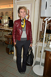 JO MANOUKIAN at the 3rd annual Gynaecological Cancer Fund Ladies Lunch at Fortnum & Mason, 181 Piccadilly, London on 29th September 2016.