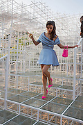 BIP LING, The Serpentine Summer Party 2013 hosted by Julia Peyton-Jones and L'Wren Scott.  Pavion designed by Japanese architect Sou Fujimoto. Serpentine Gallery. 26 June 2013. ,