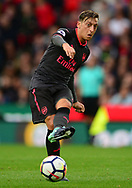 Mersut Ozil of Arsenal in action. Premier league match, Stoke City v Arsenal at the Bet365 Stadium in Stoke on Trent, Staffs on Saturday 19th August 2017.<br /> pic by Bradley Collyer, Andrew Orchard sports photography.