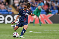 Eve PÈrisset of  Paris Saint-Germain during the UEFA Women's Champions League Final between Lyon Women and Paris Saint Germain Women at the Cardiff City Stadium, Cardiff, Wales on 1 June 2017. Photo by Giuseppe Maffia.<br /> <br /> <br /> Giuseppe Maffia/UK Sports Pics Ltd/Alterphotos