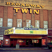Many main street theatres have been revitalized in cities and towns that value community spirits that megaplexes ignore.  Maybe this one has a future?