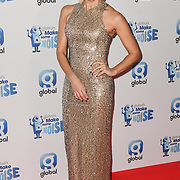 Jenni Falconer arrivers at the Global's Make Some Noise Night at Finsbury Square Marquee on 20 November 2018, London, UK.