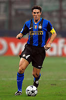 """Javier Zanetti (Inter)<br /> Milano 01/10/2008 Stadio """"Giuseppe Meazza"""" <br /> Champions League 2008/2009<br /> Inter Werder Bremen (1-1)<br /> Foto Andrea Staccioli Insidefoto"""