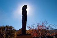 General Dwight Eisenhower Statue, Dwight D Eisenhower Presidential Library and Museum, Abilene, Kansas