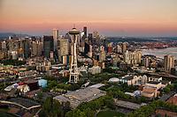 Seattle Center (foreground) & Skyline
