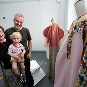 """03.06.2018.        <br /> An In-FLUX of visitors attended LSAD, Limerick School of Art and Design for one of Ireland's largest and most vibrant Graduate Shows.<br /> <br /> Checking out the Fashion Designs on display at the opening of the Flux exhibition were, Pippa Little, Alex and Matt Gidney.<br /> <br /> More than 200 Fine Art and Design students' work went on display from June 2 to June 10, 2018 at the LSAD Graduate Show - FLUX.<br /> LSAD has been central to Art, Craft and Design in the Limerick and Midwest region since 1852.<br />  <br /> The concept, branding and overall design of the 2018 LSAD Graduate Show - FLUX – is student led, and begins this Saturday June 2 and runs until June 10, 2018.<br />  <br /> FLUX encapsulates the movement and change from student to graduate. """"The """"X"""" in """"FLUX"""" represents the students and how they have made their mark in their time at college,"""" explains designers Cathy Hogan and Will Harte as they outline the thinking behind the concept.<br />  <br /> FLUX describes the dynamic movement in the Limerick city region as it overcomes significant issues to become a fulcrum of rejuvenation, vibrant culture, strong industry growth and a centre of design.<br />  <br /> LSAD is also in a state of FLUX as it develops its enterprise potential and engagement with stakeholders across industry, public bodies, third level institutions and other partners overseeing a shift towards design, creativity and connectivity that goes far beyond the walls of its main campus on Clare Street. Picture: Alan Place"""