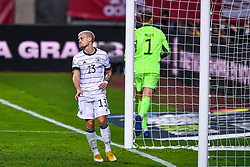 SEVILLE, SPAIN - Tuesday, November 17, 2020: Philipp Max of Germany, goalkeeper Manuel Neuer of Germany disappointed during the UEFA Nations League match between Spain and Germany at Estadio La Cartuja de Sevilla. (Photo by Pablo Morano/Orange Pictures via Propaganda)