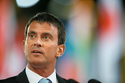 Opening Ceremony, Valls Manuel Carlos  - Prime Minister of France<br /> Alltech FEI World Equestrian Games™ 2014 - Normandy, France.<br /> © Hippo Foto Team - Leanjo de Koster<br /> 25/06/14