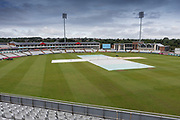 General view of the ground before Day 3 of the Specsavers County Champ Div 2 match between Durham County Cricket Club and Leicestershire County Cricket Club at the Emirates Durham ICG Ground, Chester-le-Street, United Kingdom on 20 August 2019.